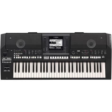 Lcd Yamaha Psr 2000 yamaha psr a2000 schwarz 171 keyboard
