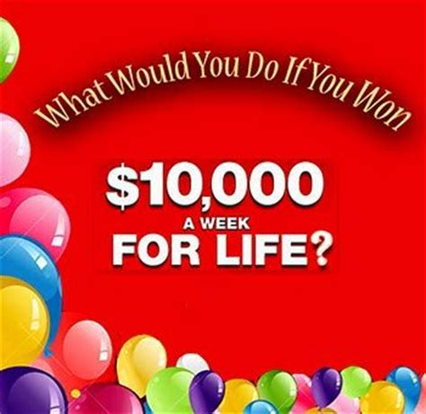 Pch 10000 A Week - pch win it all sweepstakes 10000 a month for life share