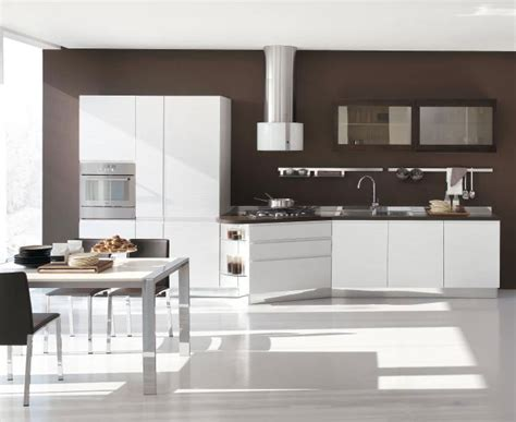Designs Of Kitchen Furniture New Modern Kitchen Design With White Cabinets Bring From