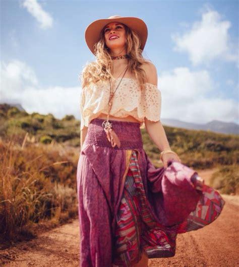 Anting Vintage Bohemian Pink skirt boho bohemian purple pink slit slit hippie hippie 60s style maxi skirt boho