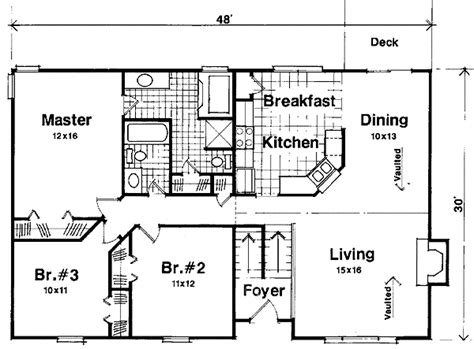 Split Foyer Floor Plans | marvelous split foyer house plans 11 click to view house