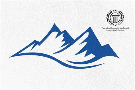 logotype tutorial mountain shape logo design tutorial how to create a