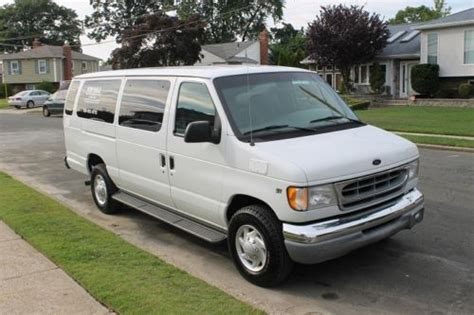buy car manuals 1998 ford club wagon on board diagnostic system buy used 1998 ford e350 super club wagon 3d 14 passenger van 5 4 litter v8 one owner 42k in