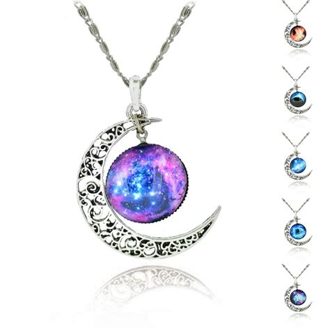 aliexpress necklace brand sterling silver jewelry fashion moon statement