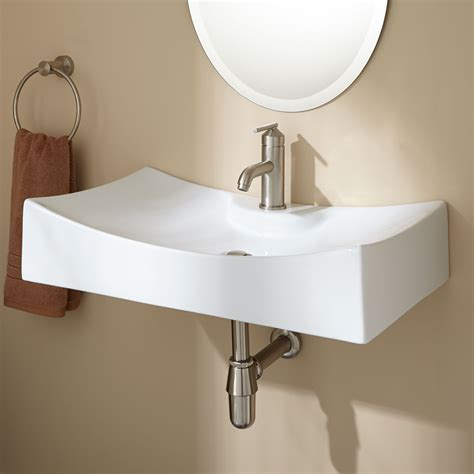 wall mounted sinks bathroom alise wall mount bathroom sink ebay