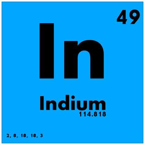 element tabl indium periodic table www pixshark images