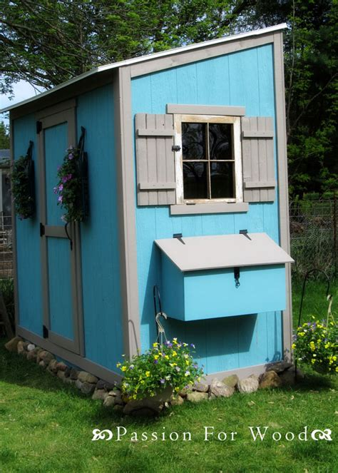 ana white shed chicken coop diy projects