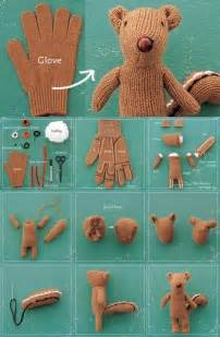 d i y diy recycled glove tododesign by arq4design