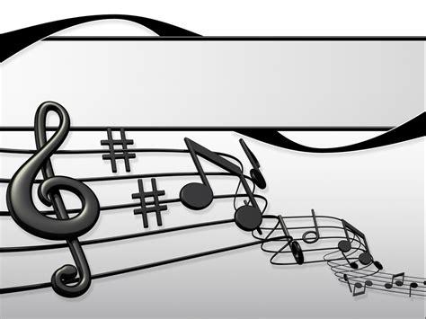 sheet music presentation ppt template sheet music
