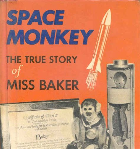 the story of the great bake books dreams of space books and ephemera space monkey the