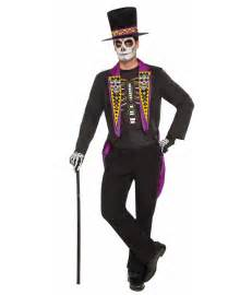 Day Of The Dead Halloween Costumes Day Of The Dead Fine Gent Mens Costume Scary Costumes