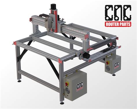 cnc router table kit pro4848 4 x 4 cnc router kit cncrouterparts