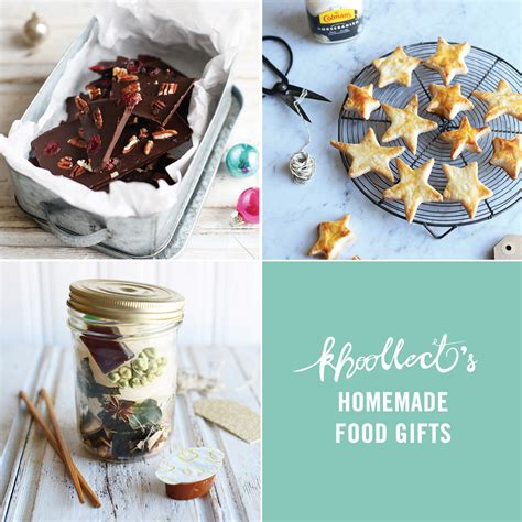Handmade Food Gifts - khoollect tips creating thoughtful food gifts