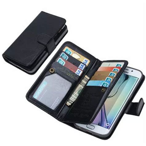 Samsung S6 Edge Plus Wallet Leather Casing Bumper Dompet Kulit for samsung galaxy s6 edge plus phone luxury leather