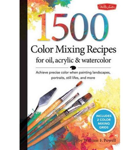 1 500 color mixing recipes for acrylic and watercolor