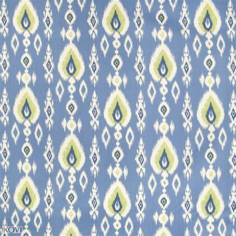 blue ikat upholstery fabric capri blue ikat prints upholstery fabric