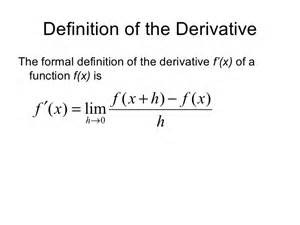 Formal Credit Definition Calculus Is Not The Derivative Hackaday