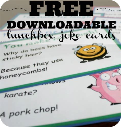 printable practical jokes printable lunchbox notes 20 printable kid friendly joke