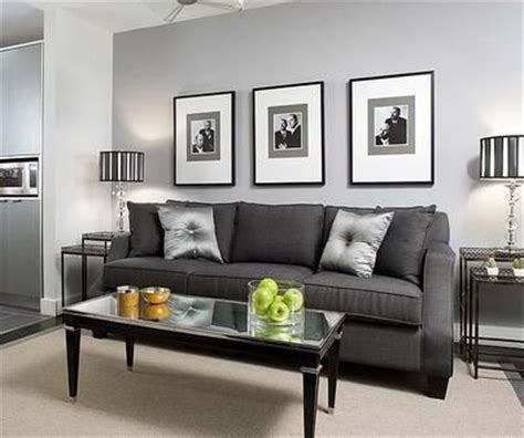 Black Sofa Grey Walls by Grey Black And Green Living Room Search Grey