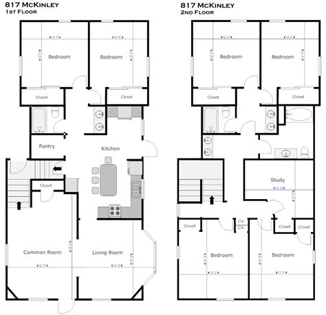 Floor Plan Creator With Dimensions floor plan with dimensions 2d kitchen floor plans with