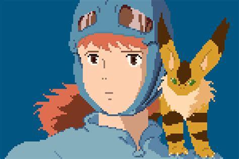 Anime 8 Bit by 1080p Studio Ghibli Anime 8bit Pixel 3 3