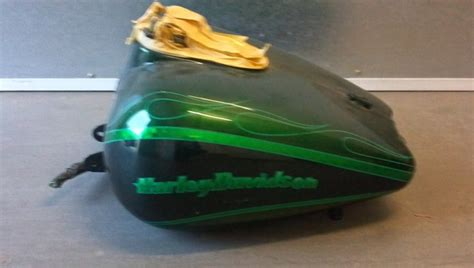custom painted kandy green 2003 sg parts harley davidson forums