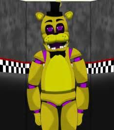 Marionette Halloween Costume Golden Freddy Killer Bubblinggin Deviantart