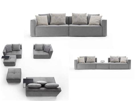 divano letto componibile divano grigio componibile
