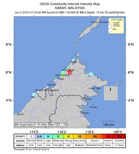 earthquake malaysia malaysia earthquake early reports of seismically