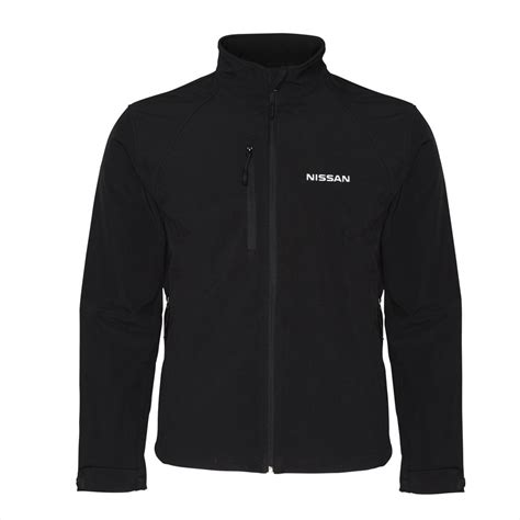 Jaket Zipper Hoodie Sweater Nissan Hitam nissan genuine mens gents soft shell jacket sport coat zip in black