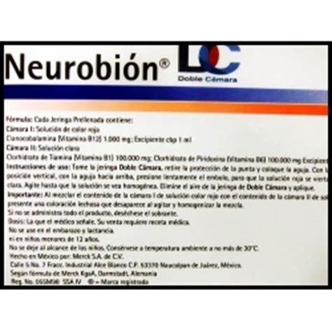 para que sirve el ergovidon neurobion neurobion dc 1 000 complejo b 3 jeringas prellenadas