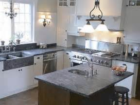 Kitchen Countertops Options Costs Kitchen Soapstone Countertops Cost For Classic Kitchen