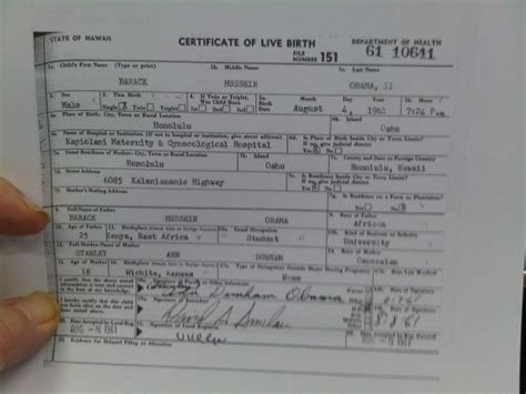 State Of Kansas Birth Records The Birthers Go To