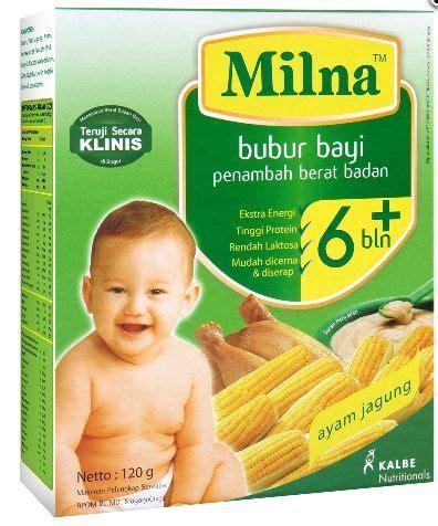 Blender Kecil Untuk Bayi milna bubur bayi organik mpasi terbaik untuk si kecil