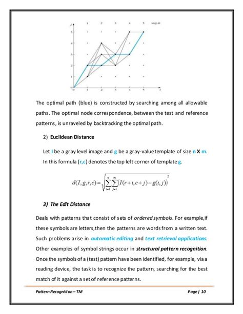 pattern recognition latex template template matching pattern recognition