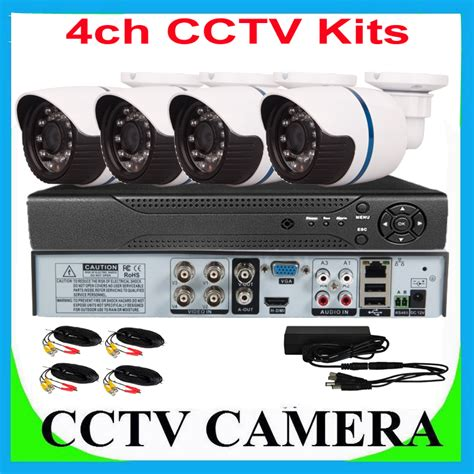 best vision 4 channel kits dvr recorder security