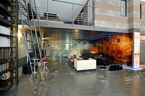 masculine style italian loft design  marco dellatorre