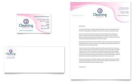 Business Card Template Free Word For Cleaners by House Cleaning Services Business Card Letterhead