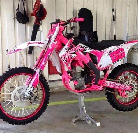 Motocross Motorrad Pink by Les 25 Meilleures Id 233 Es Concernant Moto Cross Sur