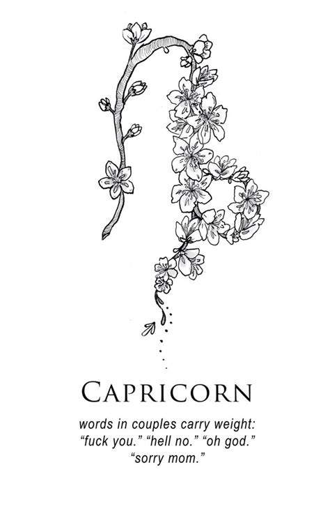 capricorn constellation tattoo best 25 capricorn ideas on capricorn