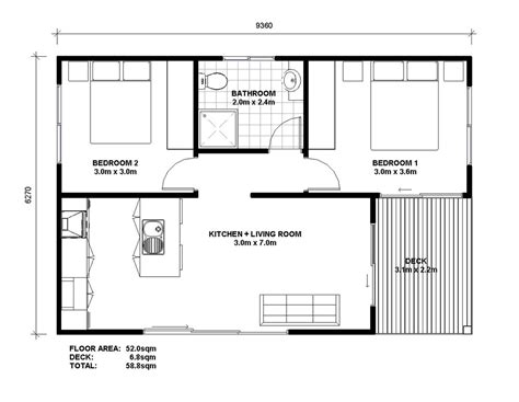 floor plan granny flat granny flat plans google search granny flats