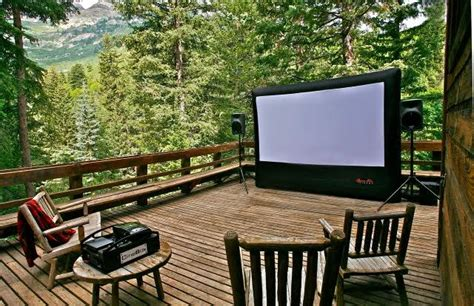 outdoor home theater    grand rental station
