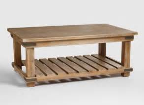 coffee tables ideas wood and glass