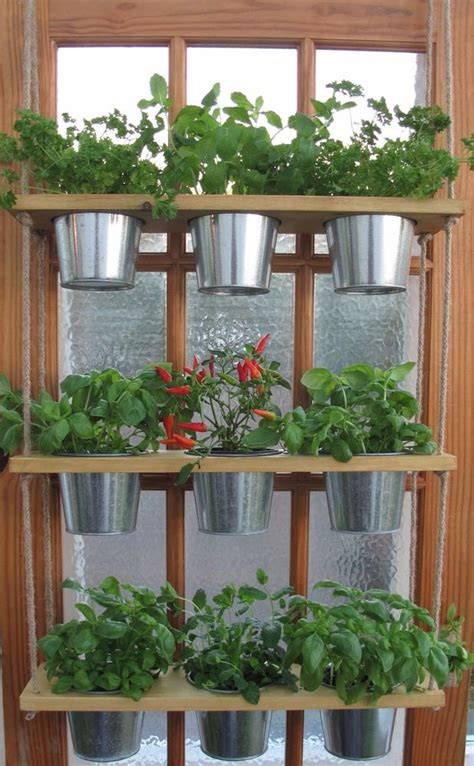 herb shelf hanging herb planter windowsill kitchen plant hanger 3