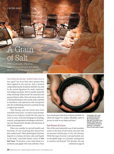 what s a salt l a grain of salt 1 salt chamber