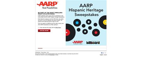 Aarp Sweepstakes 2017 - aarp hispanic heritage sweepstakes