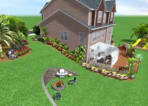 home and garden design software home landscape software features