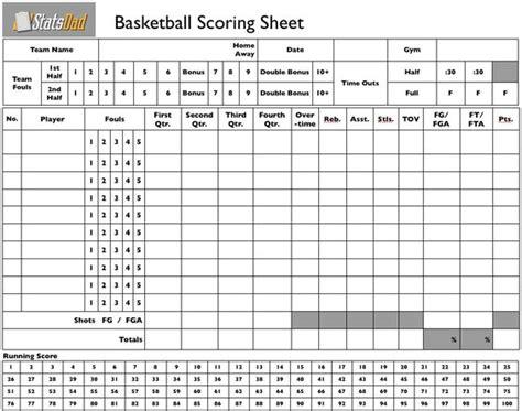 basketball lineup card template blank basketball stat sheet printable print this blank