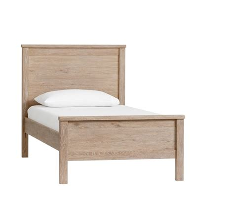 low footboard bed pottery barn