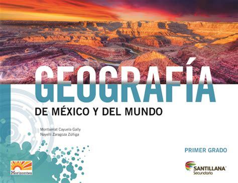 libro 1 de geografia nivel secundaria 2015 2016 becas 2016 libro de 1 de secundaria de geografia 2016 geograf 205 a